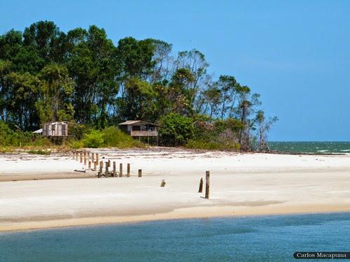 Praia da Barra Velha, Soure - Parà, foto di Carlos Macapuna