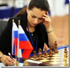 Alexandra Kosteniuk in Kazan - RUS