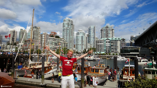 exploring Vancouver on the west coast of Canada by Matt van Vuuren in Vancouver, British Columbia, Canada