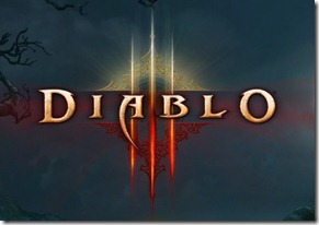 Diablo III Login Screen
