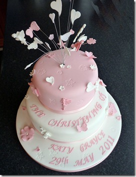 Christening-Cake-2-tier-Fairys-and-hearts