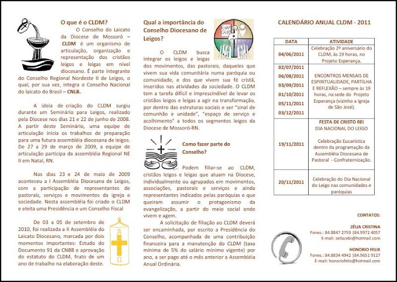 Conselho Diocesano de Leigos e Leigas