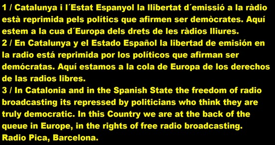 Radio Pica Barcelona