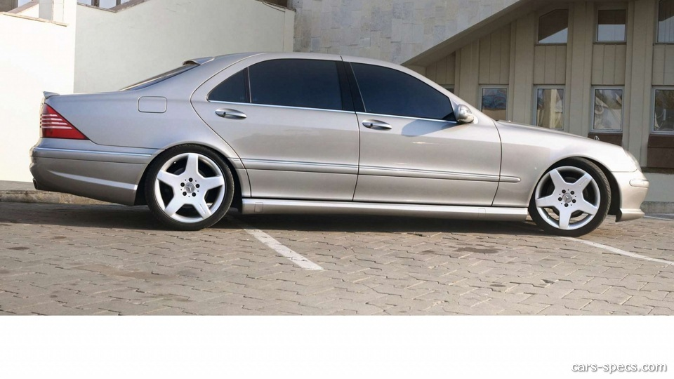 2004 Mercedes-Benz S-Class S55 AMG Specifications ...