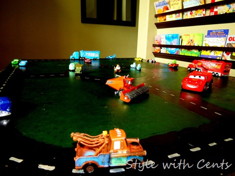 disney cars hot wheels race track 2