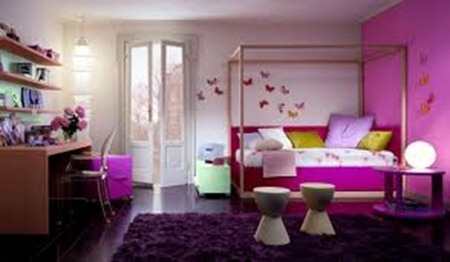 Kids bed room interior decorations 2