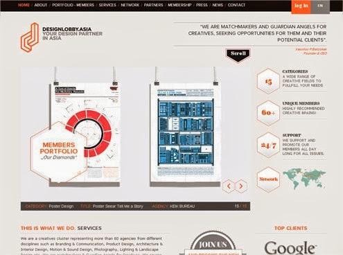 20 hermosos y simples sitios web minimalistas 19