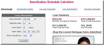 Kalkulator Pinjaman Perumahan 1