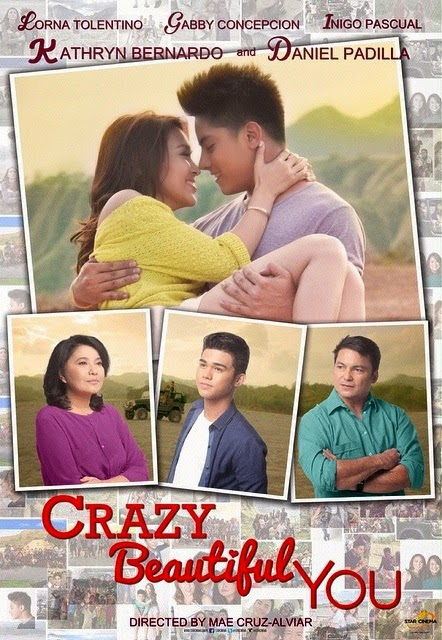 Crazy Beautiful You poster 2