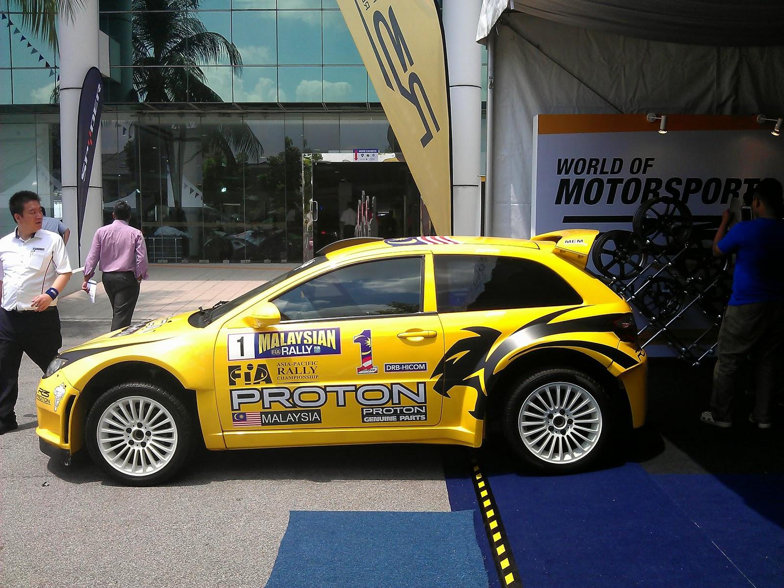 Car body sticker design malaysia - Sunday Car Pic Proton Satria Neo S2000 Rally