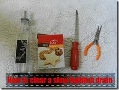clear a drain