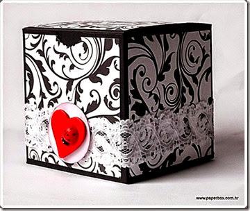 Kutija za poklone sa čestitkom (2)