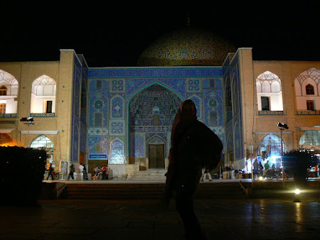 Imam square Isfahan by night