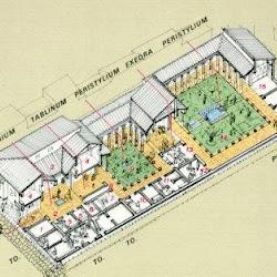57 - Esquema constructivo de domus romana 2