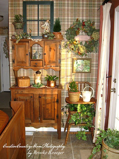 delightful Ivy Kitchen Decor #3: creative country mom my garden themed kitchenu2026. ready for spring, Gardens/