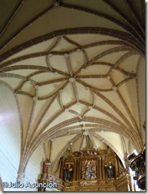 Dicastillo - Iglesia parroquial - Bóveda estrellada gótica