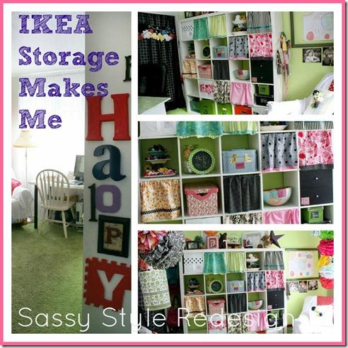 ikea storage collage