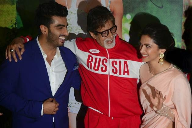 Finding Fanny Special Screening For Amitabh Bachchan