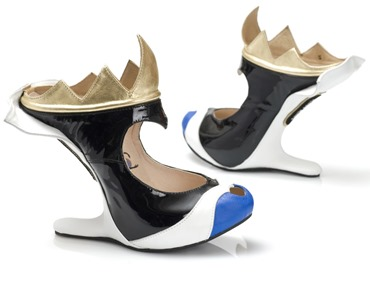 Kobi Levi DIsney Villian Heels - Evil Queen sideview