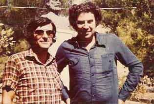 Ο Σπύρος Αρσένης με τον Μίκυ Θεοδωράκη