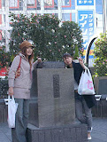 April Fools, from the Japan Times - the Hachiko statute was stolen!