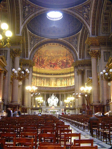 Paris La_madeleine_interior