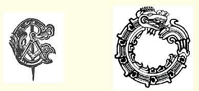Veja agora o mesmo símbolo da serpente
