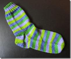 Lavender Fields Sock 1