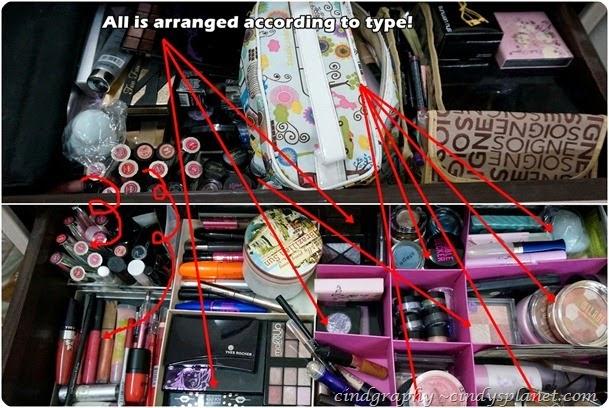 Organized makeup 3