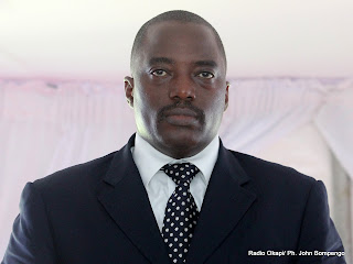 – Le président Joseph Kabila. Radio Okapi/ Ph. John Bompengo