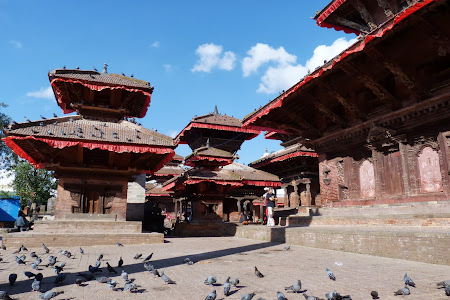 Obiective turistice Nepal: Piata centrala Kathmandu