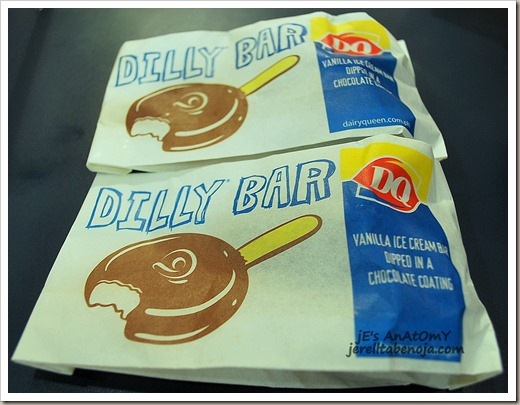 dairy queen, ice cream, dilly bar