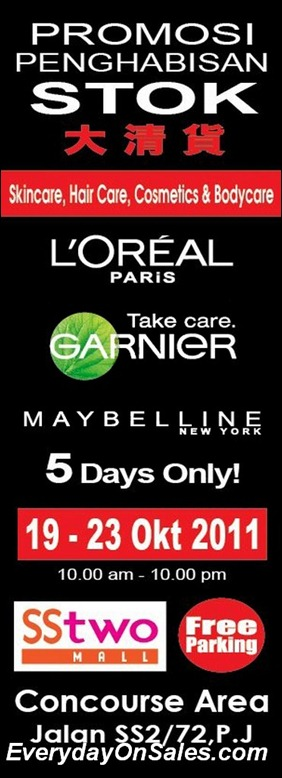 Loreal-Stock-Clearance-2011-EverydayOnSales-Warehouse-Sale-Promotion-Deal-Discount