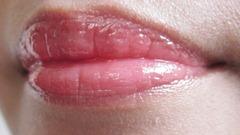 elf strawberry liquid lipstick swatch, bitsandtreats