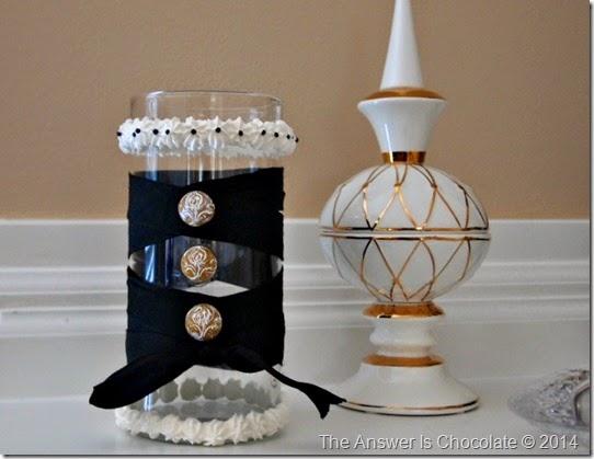 Mod Podge Clay Vase