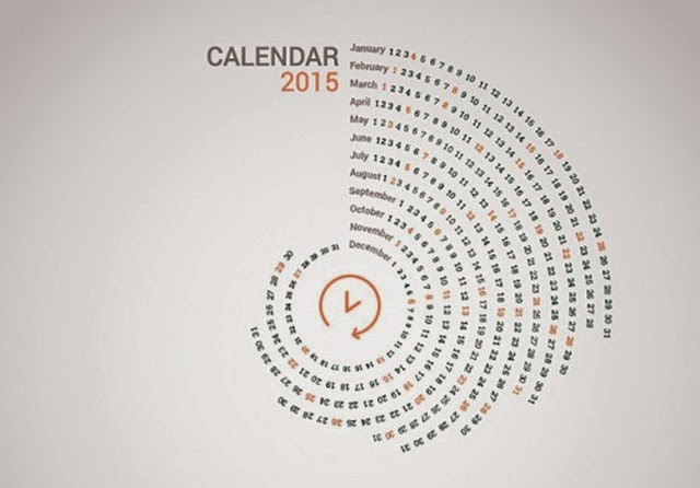 Los calendarios más creativos para este 2015