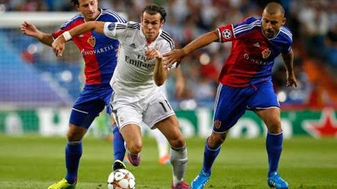 Goles del partido Real Madrid vs Basilea 5-1