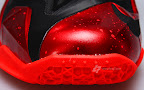 nike lebron 11 gr black red 2 14 New Photos // Nike LeBron XI Miami Heat (616175 001)