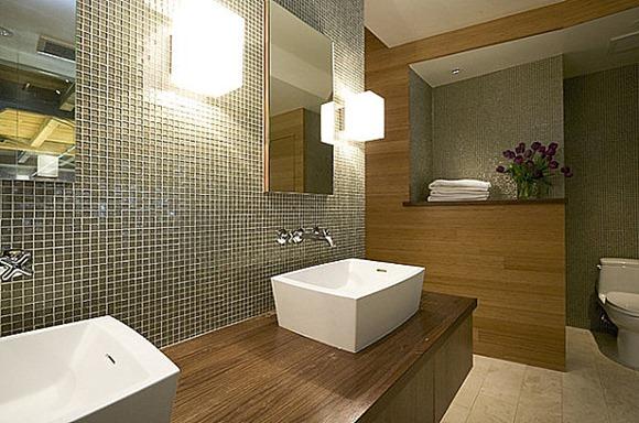 Ideas de iluminaci n para un cuarto de ba o moderno idecorar for Apliques para banos modernos