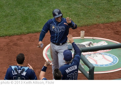 'Yunel Escobar' photo (c) 2013, Keith Allison - license: http://creativecommons.org/licenses/by-sa/2.0/
