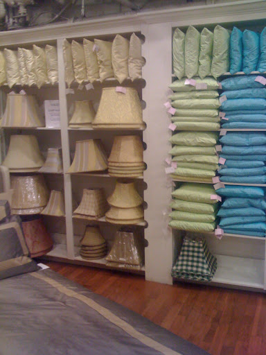 They have a wide range of shapes and sizes for both lampshades and pillows.