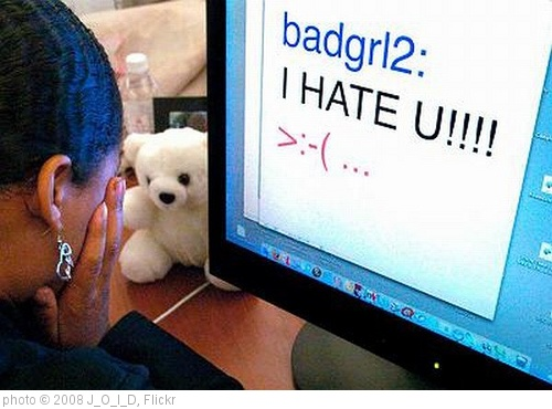 'bad-cyberbully' photo (c) 2008, J_O_I_D - license: http://creativecommons.org/licenses/by/2.0/
