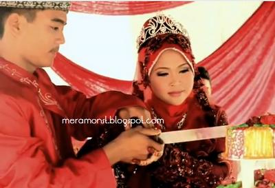 majlis perkahwinan syafiq 16 tahun dan yana 14 tahun