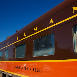 1923 Pullman Club Car by Chris Taylor - Transportation Trains ( car, 365, vintage, railroad, old school, train, nostalgia, tourism, travel, transportation, club car )