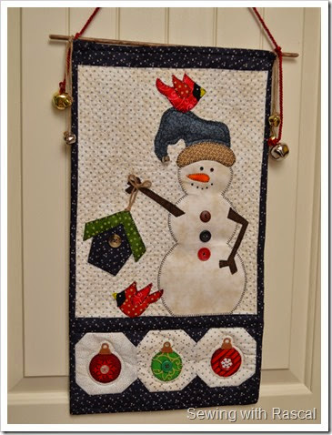Kimberbell Designs Winter Door Hanging