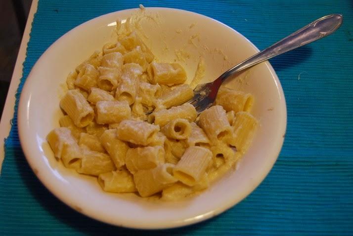 DSC_7157 pasta ai formaggi veg (cavolfiore)