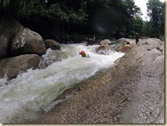 riverboarding sungai sedim 1