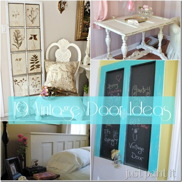 vintage door ideas