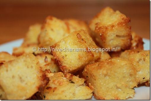 Garlic Croutons - IMG_9404