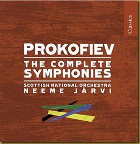 Prokofiev Sinfonías Jarvi